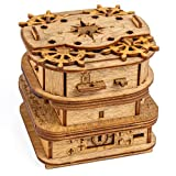 iDventure Cluebox - Davy Jones Locker - Escape Room Spiel - kniffeliges 3D Holzpuzzel Rätsel - einzigartige Knobelspiele - Escape Box Spiele Für Erwachsene und Rätselbox für Kinder