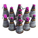12 Stück h2i Etna - Happy - Kongo Vulkane Sylvester Party Feuerwerk +ein h2i Feuerzeug