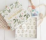 Geldgeschenk - Geld Verpackung zur Hochzeit - Hochzeitsgeschenk - Geschenk für das Brautpaar - Lass Liebe wachsen