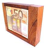 Logica Spiele Art. Geldschrank Mit Trick M - Geheimschachtel aus Holz - Schwierigkeit 5/6 Unglaublich - Geschenkbox - Denkspiel - Knobelspiel - Leonardo da Vinci Kollektion