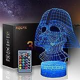 3D-LED-Nachtlicht für Kinder, Star Wars Illusion, Stimmungslampe, Darth Vader E, mit Touch-Steuerung, Weihnachten, Geburtstag, Geschenke für Kinder